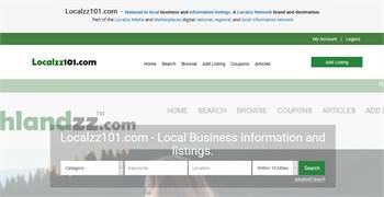 Localzz101.com - National to local business related information listings.