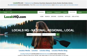 LocalsHQ.com  - National to local Directory, Classifieds, Employment, Events, Rentals, Real Estate,